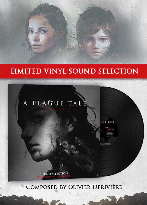 A plague Tale: innocence packshot vinyl edition