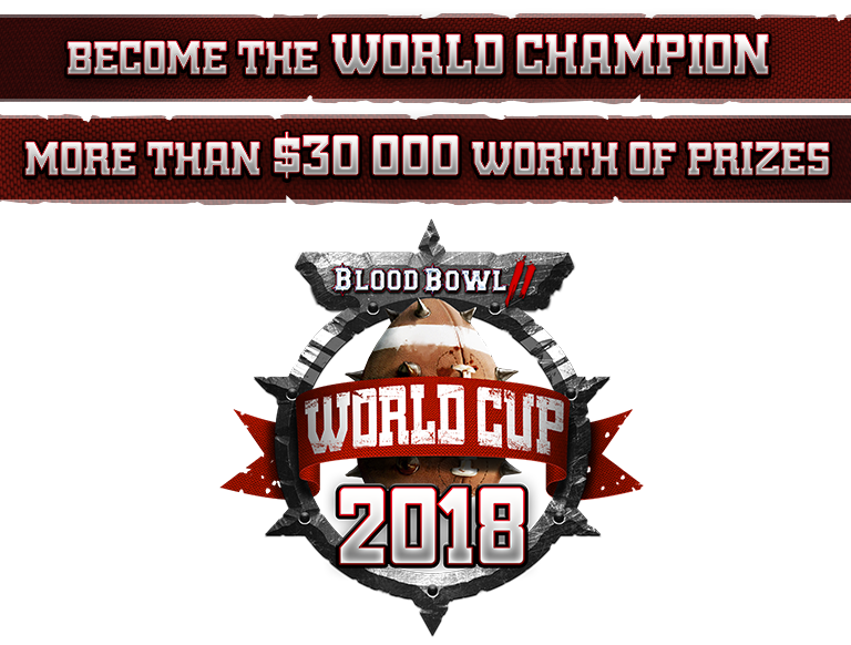 Blood Bowl 2 worldcup 2018 logo