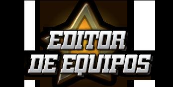 EDITOR DE EQUIPOS