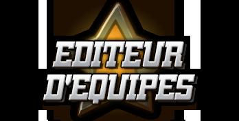 EDITEUR D'EQUIPES