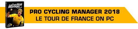 Pro Cycling Manager 2018 banner