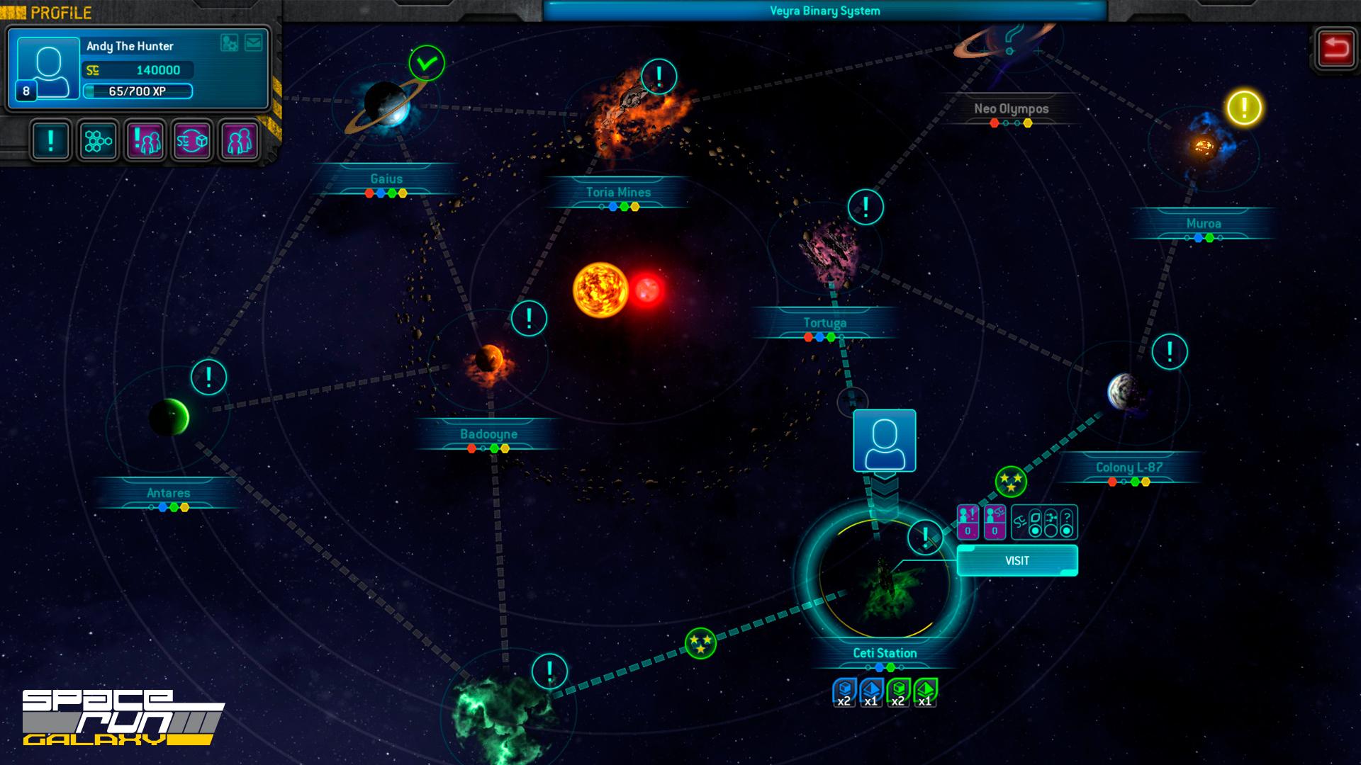 Space Run Galaxy - Focus Home Interactive