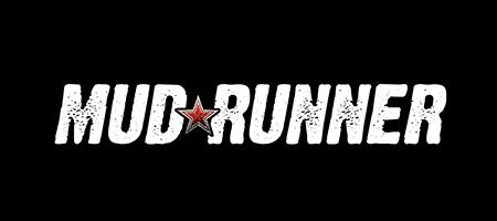 Mudrunner game logo .